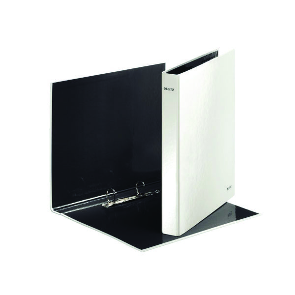 Leitz Wow A4+ 2D-Ring Binder 25mm White 42410001