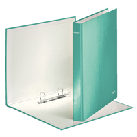 Leitz WOW Ring Binder Ice Blue 25mm (Pack of 10) 42410051