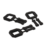 Plastic Buckle for System (Pack of 1000) PLAS-12-BUCK