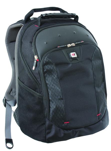 Gino Ferrari Juno 16 inch Black Laptop Backpack GF501