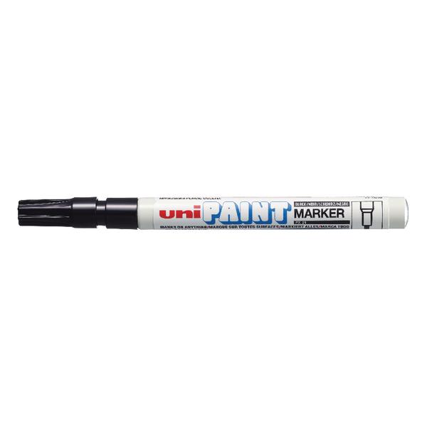 UniPAINT Marker PX21 Black (12 Pack) 558726000