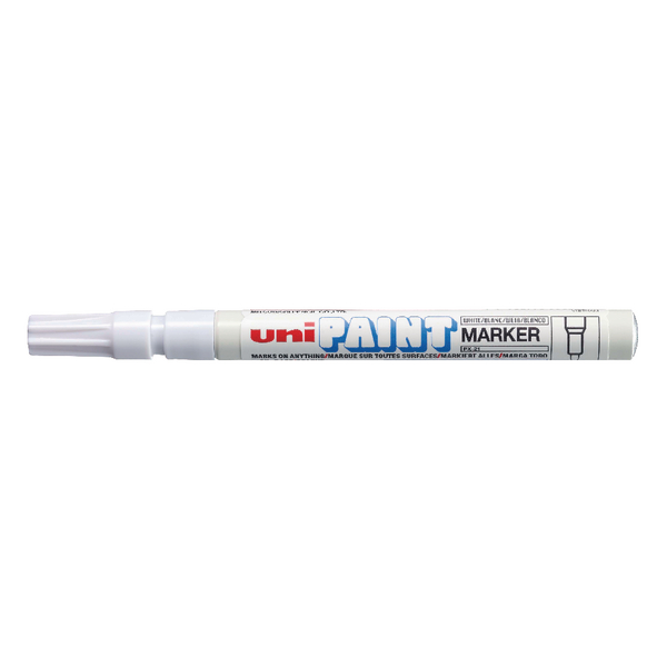 UniPAINT PX21 White Markers (12 Pack) 124503000
