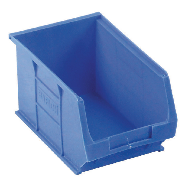 Barton Tc3 Small Parts Container Semi-Open Front Blue 4.6L 150X240X125mm (Pack of 10) 010031