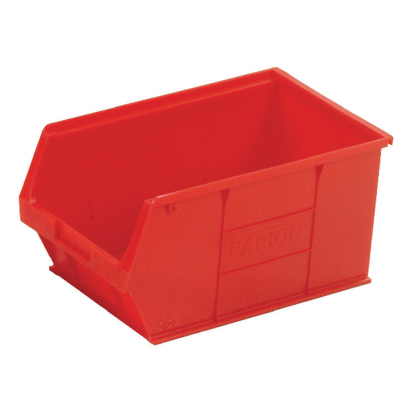 Barton Tc5 Small Parts Container Semi-Open Front Red 12.8L 200X355X175mm (Pack of 10) 010052