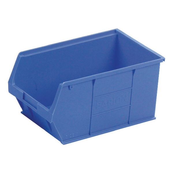 Barton Tc5 Small Parts Container Semi-Open Front Blue 12.8L 200X355X175mm (Pack of 10) 010051