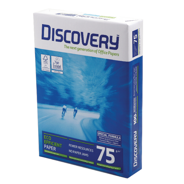 Discovery A4 White Paper 75gsm (2500 Pack) 59908