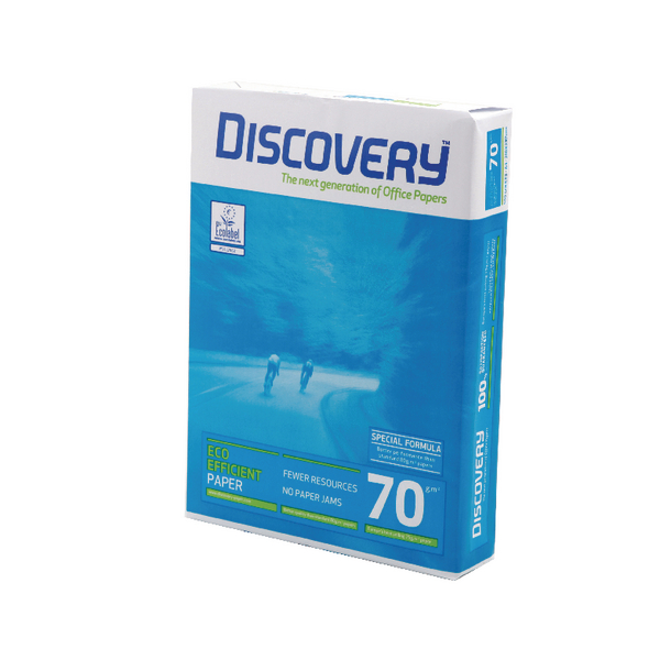 Discovery A4 70gsm White Paper (Pack of 2500) 59912