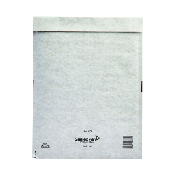 Mail Lite Bubble Lined Size H/5 270x360mm Postal Bag (Pack of 50) MLW H/5