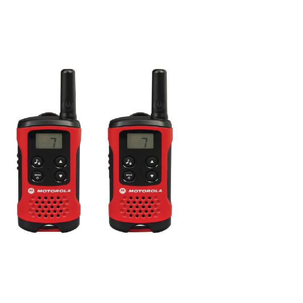 Motorola TLKR T40 Consumer Two-Way Radio (Pack of 2)