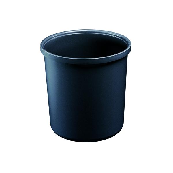 Image for Avery Polypropylene Waste Bin 20 Litre Black 19BLK
