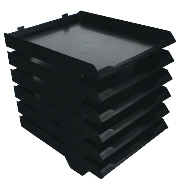 Avery 6 Tier Paperstack Black 5336BLK