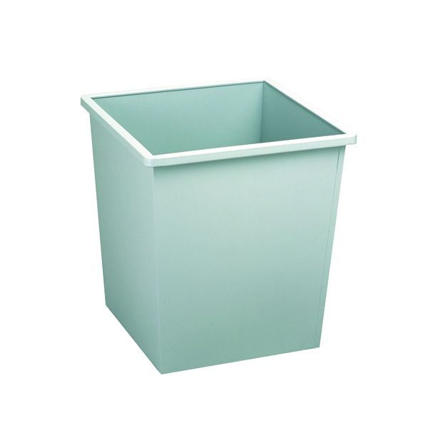 Avery Square 27 Litre Grey Steel Bin 631LGRY