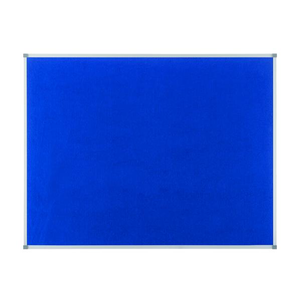 Nobo Blue Felt 900x600mm Classic Noticeboard 1900915