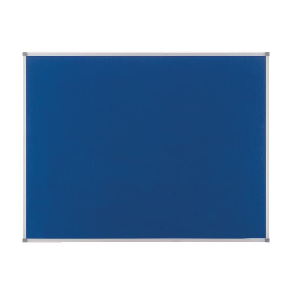 Nobo Blue Felt 1800x1200mm Classic Noticeboard 1900982