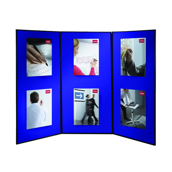 Image for Nobo Blue Lightweight Showboard Extra 3 Panel 1901710
