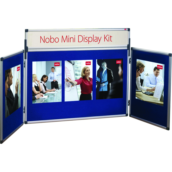 Image for Nobo Blue Mini Desktop Display Kit 35231470