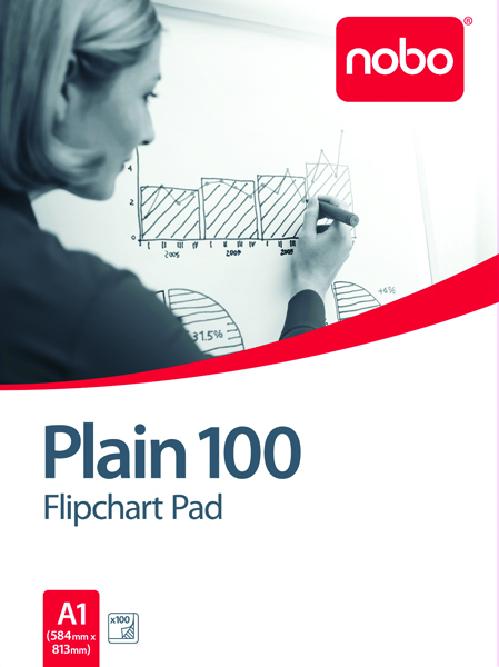 Image for Nobo 100 A1 Flipchart Pad 34633681