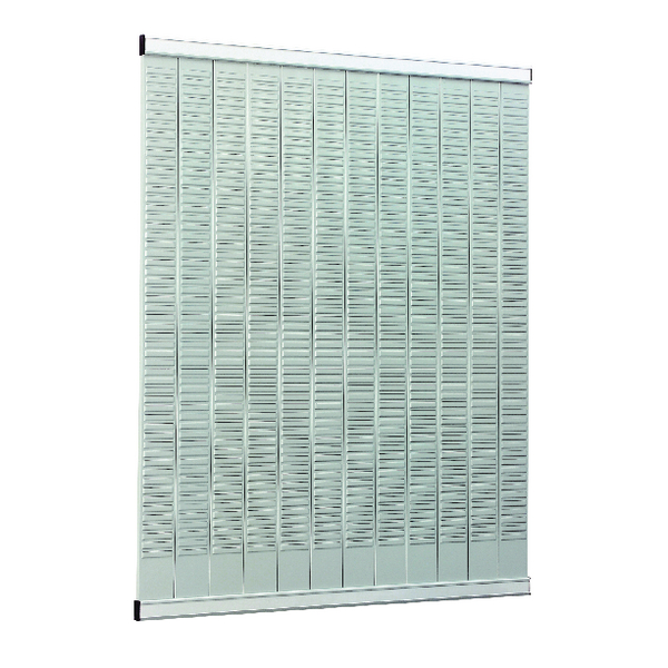 Image for Nobo T-Card Planning Panel With 32 Slot Capacity Metal Size 3 32938883