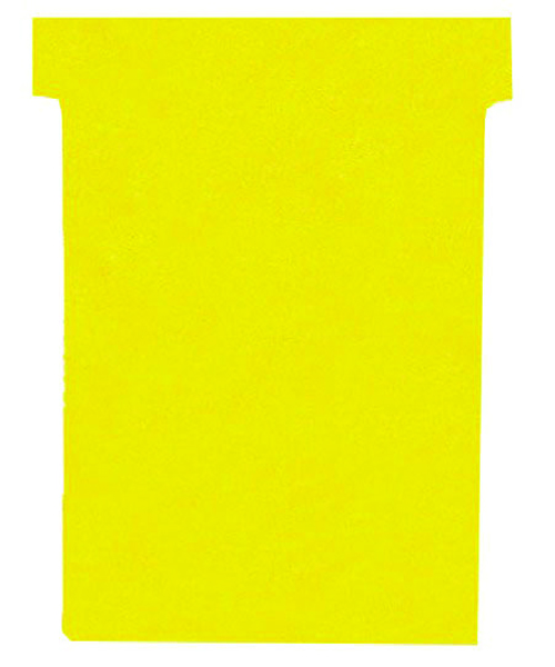 Nobo Yellow A50 Size 2 T-Cards (100 Pack) 32938904