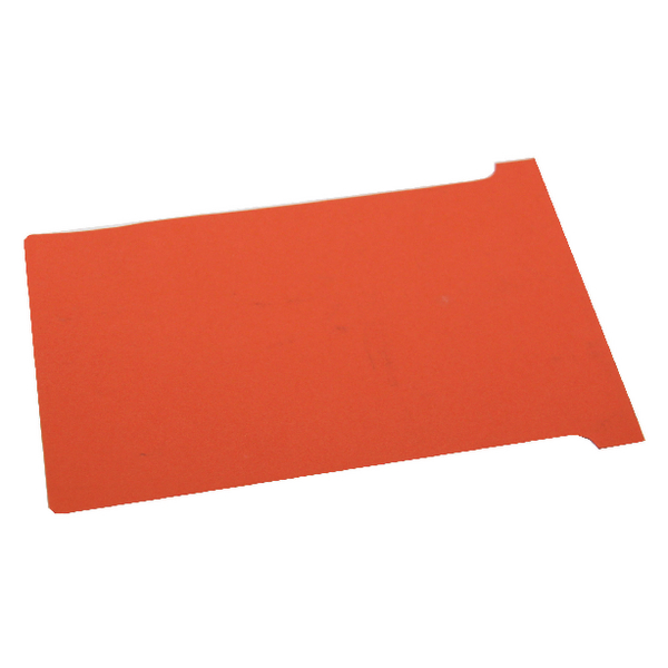 Nobo Size 2 Red T-Card (100 Pack) 32938906