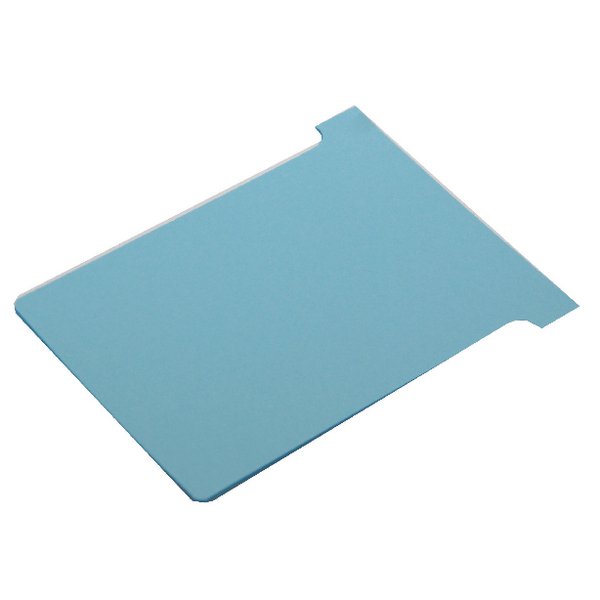 Nobo Size 2 Light Blue T-Card (100 Pack) 32938908
