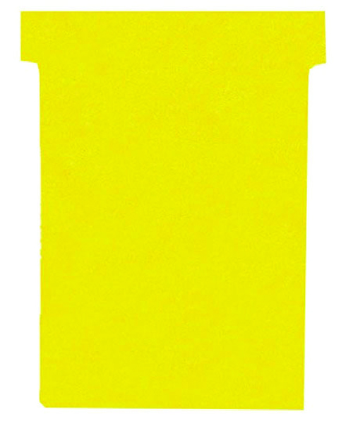 Nobo T-Card Size 3 Yellow (Pack of 100) 32938915