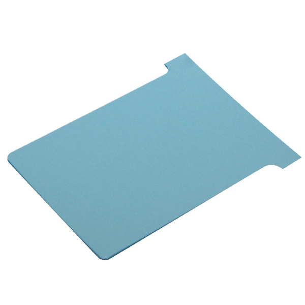 Nobo T-Card Size 3 Light Blue (Pack of 100) 32938919