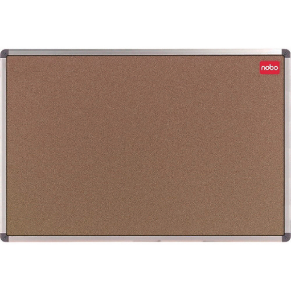 Nobo Cork Classic Noticeboard With Wall Fixing Kit 1800x1200mm 36739002