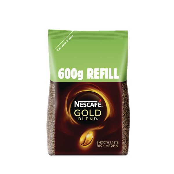 Nescafe Gold Blend Coffee 600g Pack 12226527
