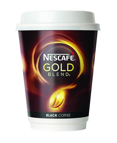 Nescafe and Go Gold Blend Black Coffee (Pack of 8) 12033810