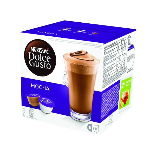 Nescafe Dolce Gusto Mocha Capsules (Pack of 48) 12184860