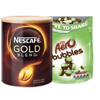 Nescafe Gld 750g x 2 Get P6 Aero Mnt Bub