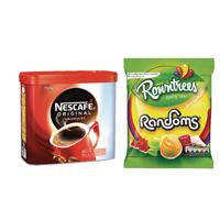 Nescafe Orig 750 x 2 FOC Randoms