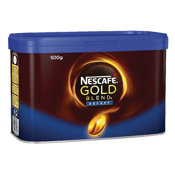 Nescafé Gold Blend Decaffeinated Instant Coffee 500g (Pack of 1) 12284222