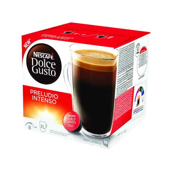 Nescafe Dolce Gusto Preludio Intenso Capsules (Pack of 48) 12323831