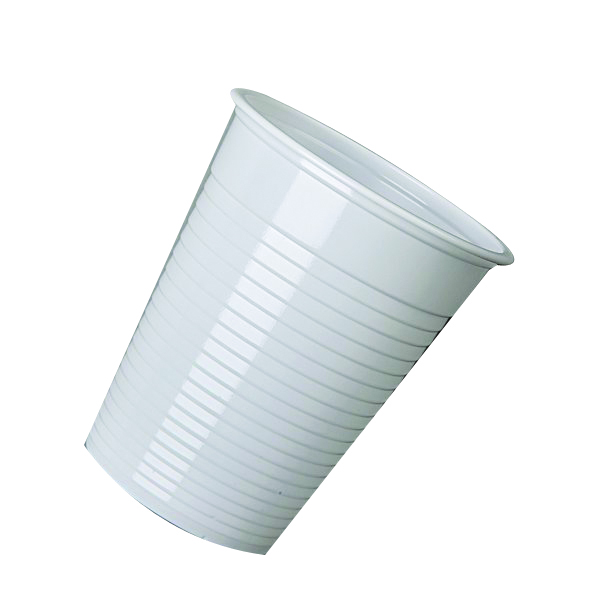 MyCafe White Disposable Drinking Cups 7oz 20cl (2000 Pack) DVPPWHCU02000