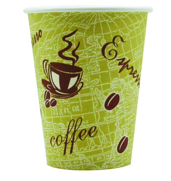 Nupik-Flo Ready To Go 12oz Paper Cup (Pack of 50) R2GO12