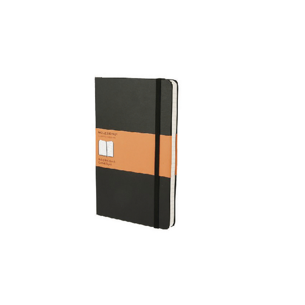 Moleskine Classic Notebook Ruled Large Soft Black (Pack of 1) QP616