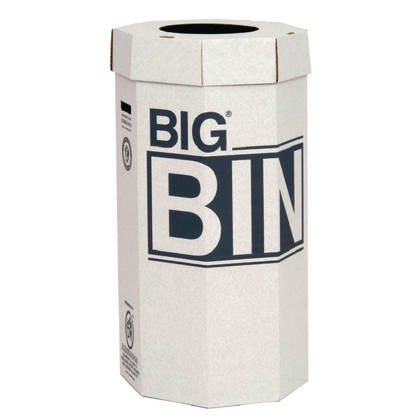 Image for Acorn Green Big Recycling Bin 160 Litre (Pack of 5) 142958