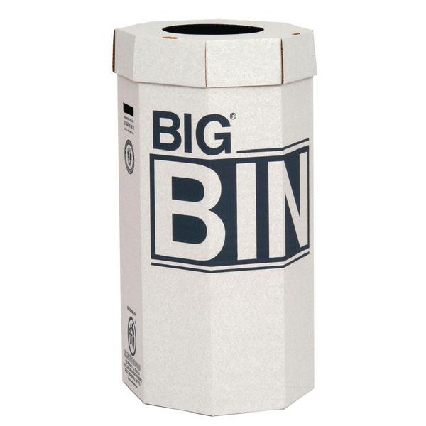 Acorn Green Big Recycling Bin 160 Litre (5 Pack) 142958