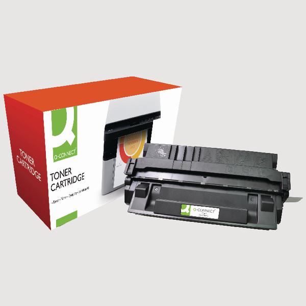 Q-Connect HP 29X Reman Black LaserJet Toner Cartridge High Yield C4129X
