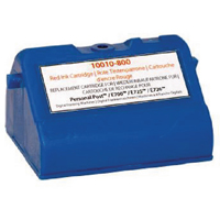 Image for Q-Connect Pitney Bowes Remanufactured Blue Franking Ink Cartridge E700/E725
