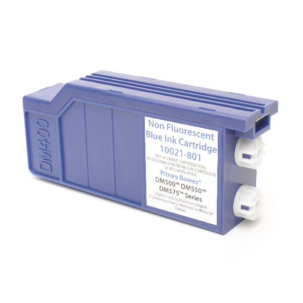 Image for Q-Connect Pitney Bowes Remanufactured Blue Franking Ink Cartridge 620-1RN