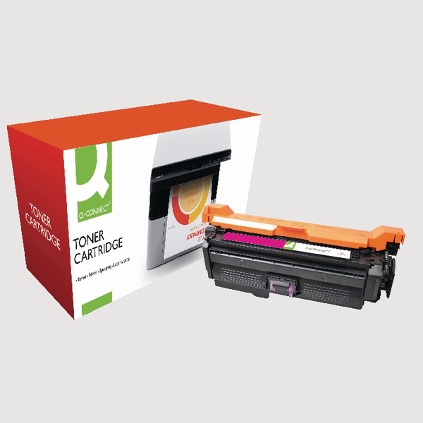 Q-Connect HP 648A Reman Magenta LaserJet Toner Cartridge CE263A