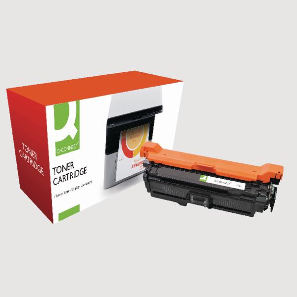Q-Connect HP 507A Reman Black LaserJet Toner Cartridge CE400A