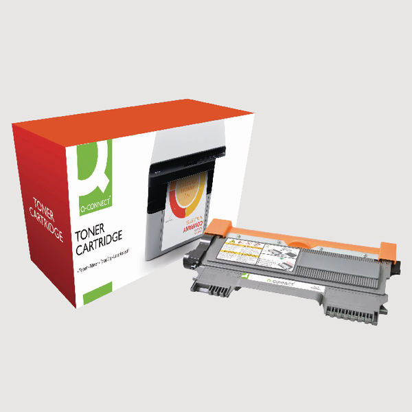 Q-Connect Brother Reman Black Toner Cartridge TN2210