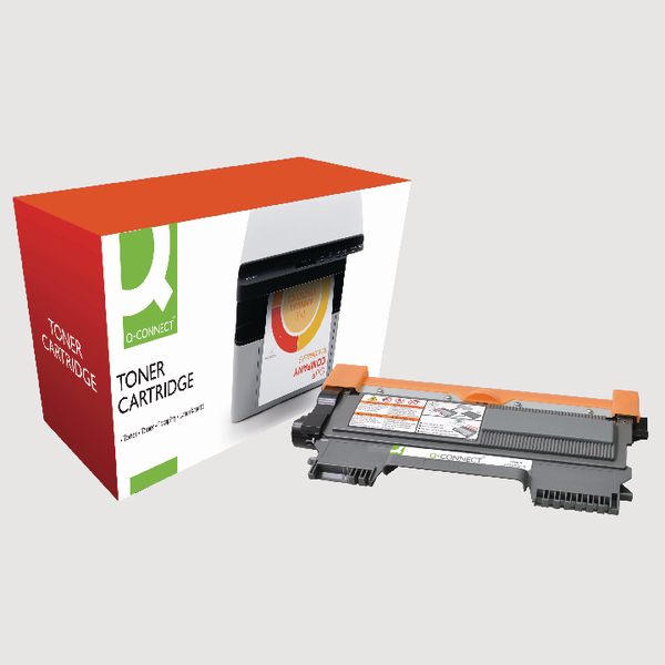 Q-Connect Brother Remanufactured Black Toner Cartridge High Capacity TN2220