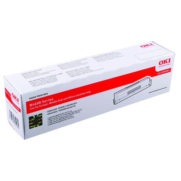 Oki Black Toner Cartridge High Capacity 43502002