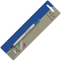 Image for Parker Blue Rollerball Pen Refill Fine (Pack of 12) S0881210