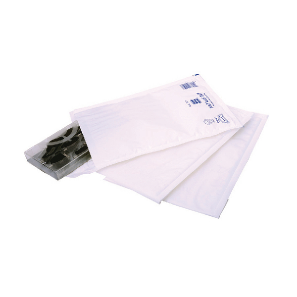Ampac Extra Strong Polythene Padded Envelope Bubble Lined 170x245mm Opaque (Pack of 100) KSB-2